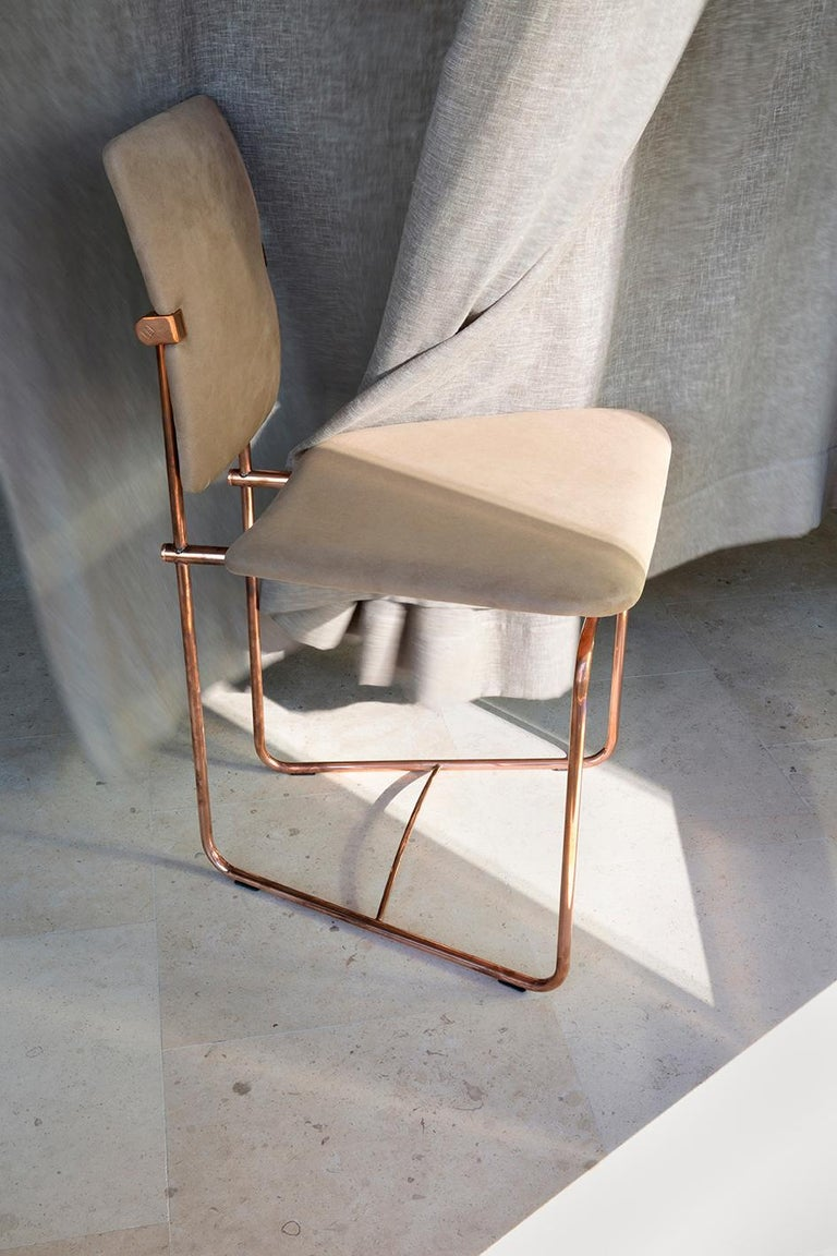 20th Century Bauhaus Style Stainless Steel 'Jodie' SO2 GHYCZY Chair  For Sale 1