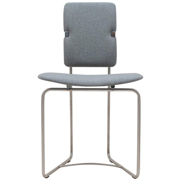 20th Century Bauhaus Style Stainless Steel 'Jodie' SO2 GHYCZY Chair  For Sale