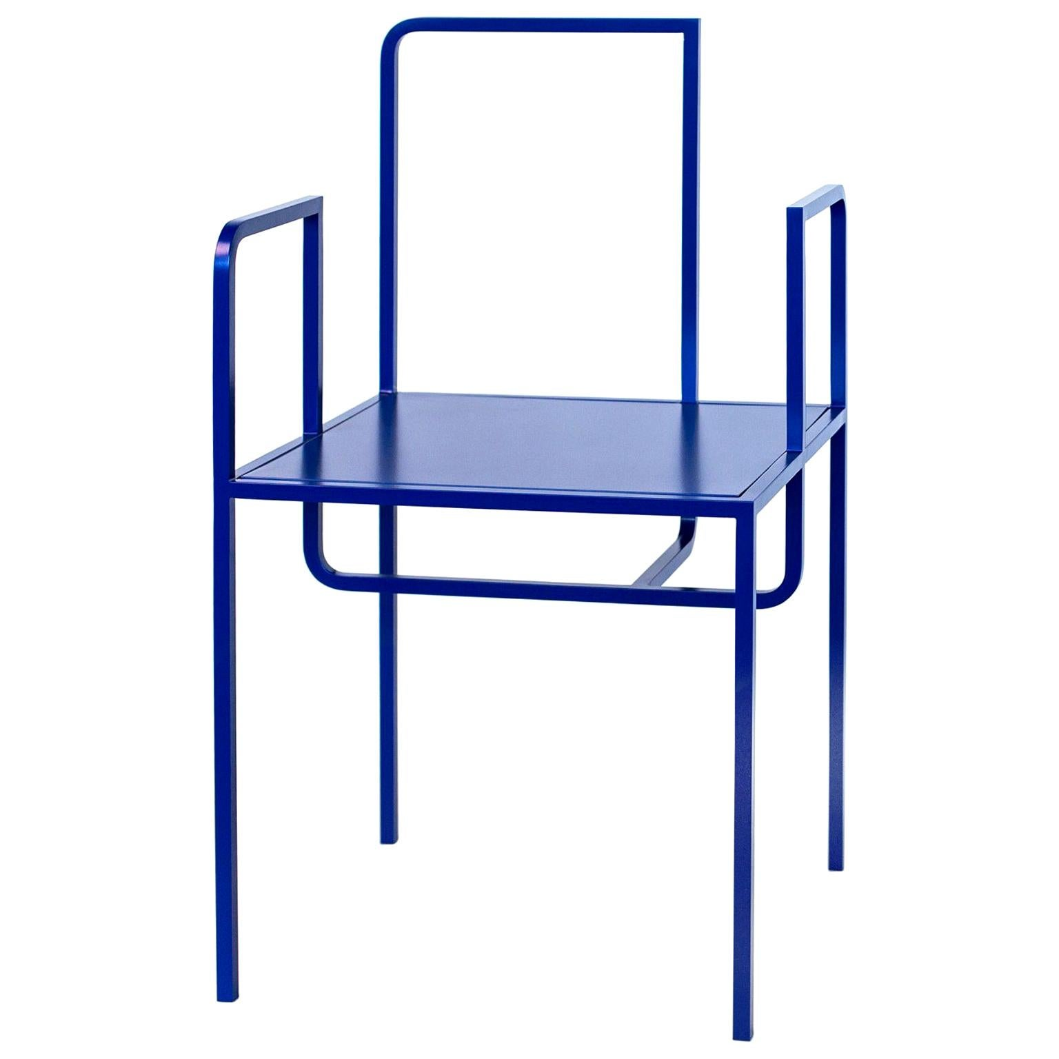 Contemporary  Chair WEI by Studio 1+11,  in Blue Edition ,21st Century  Germany