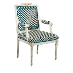 Chair with Armrests Louis XVI