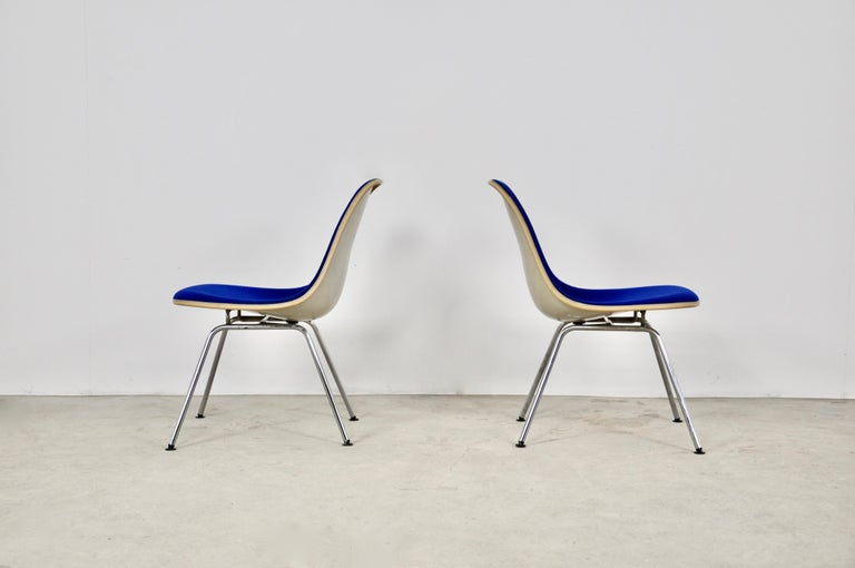 Metal Chairs by Charles and Ray Eames for Herman Miller, 1960s For Sale