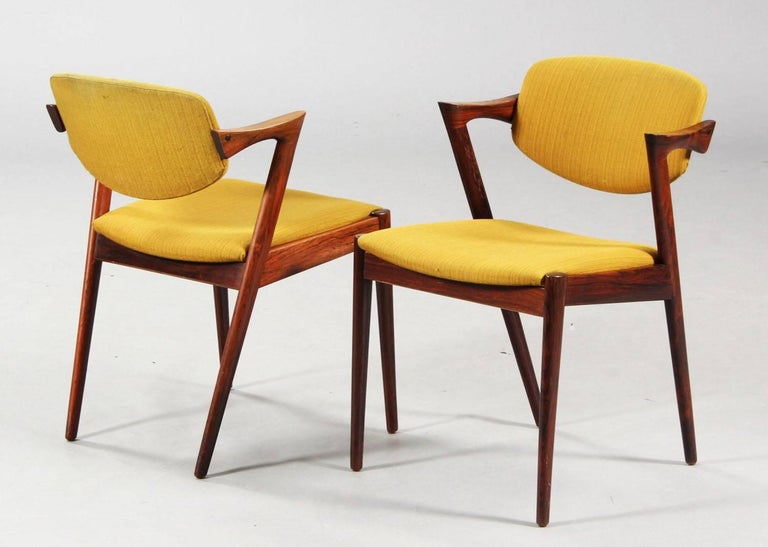 Chairs by Kai Kristiansen Model 42 3