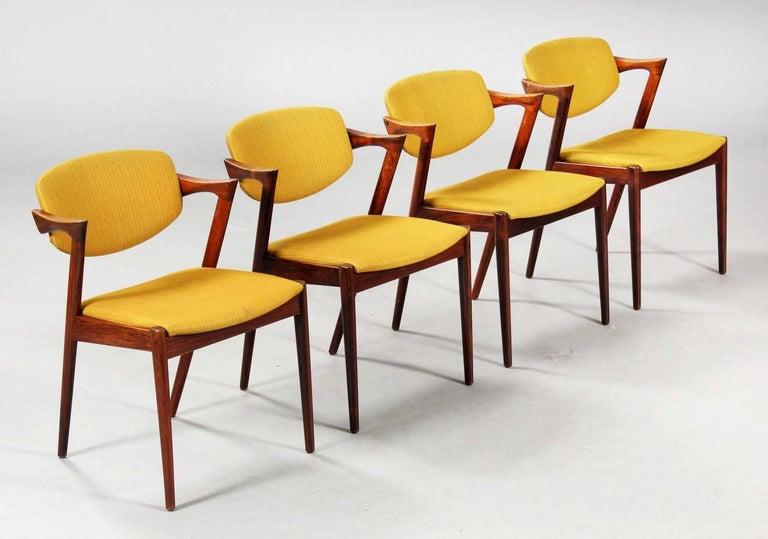 Chairs by Kai Kristiansen Model 42 4