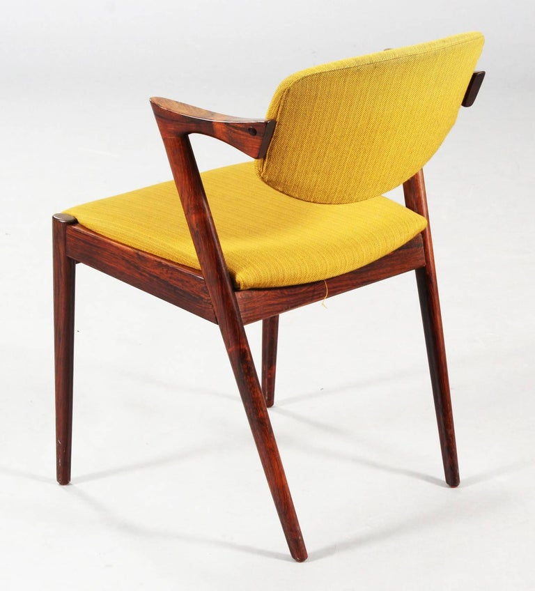 Danish Chairs by Kai Kristiansen Model 42