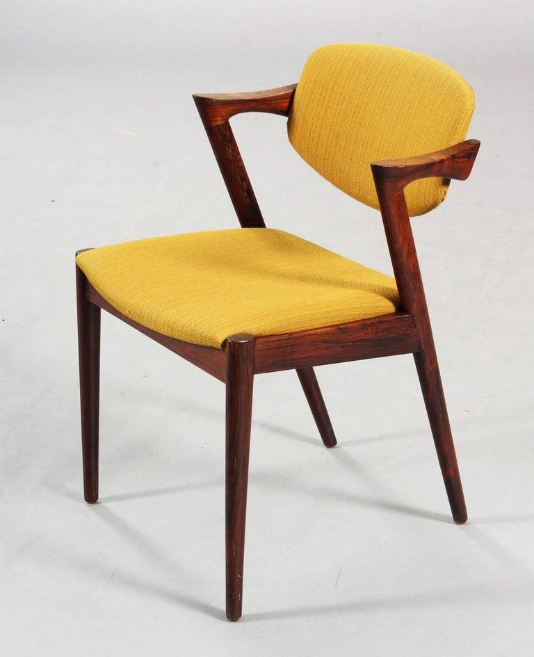 Mid-20th Century Chairs by Kai Kristiansen Model 42