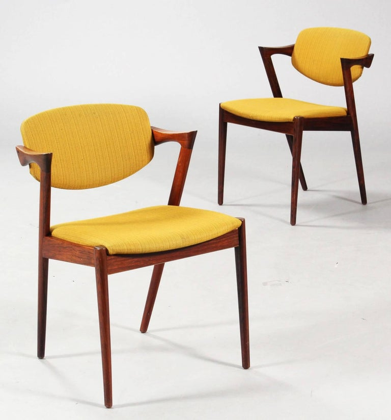 Chairs by Kai Kristiansen Model 42 1