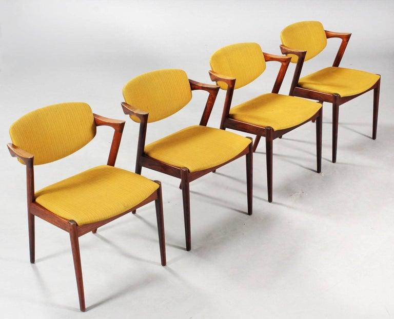 Chairs by Kai Kristiansen Model 42 2