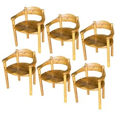 Chairs by Rainer Daumiller for Hirtshals Sawmills, 1960s, Set of 6 or 7