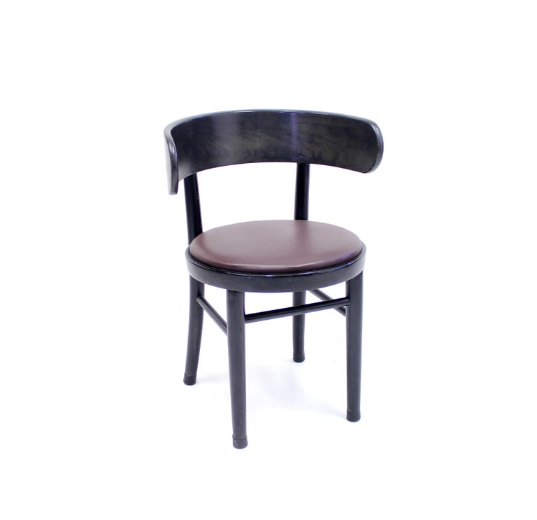 Chairs by Werner West for Wilhelm Schauman Ltd, circa 1940s, Set of 6 For Sale 3
