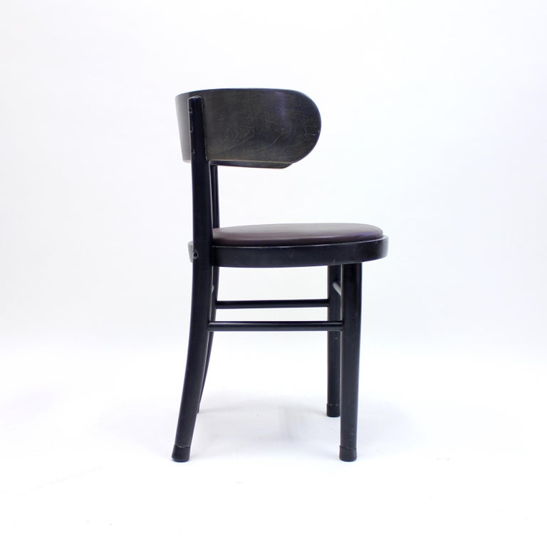 Chairs by Werner West for Wilhelm Schauman Ltd, circa 1940s, Set of 6 For Sale 4