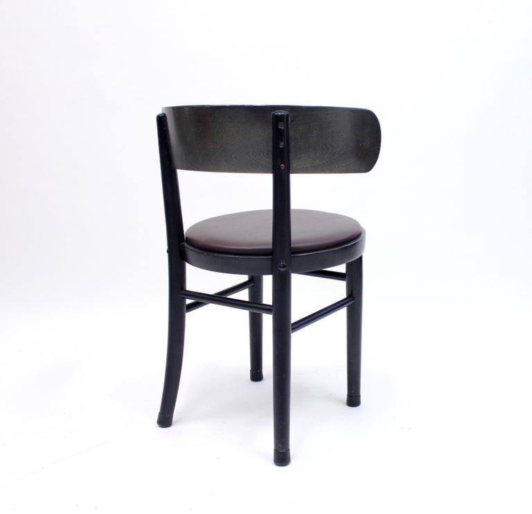 Chairs by Werner West for Wilhelm Schauman Ltd, circa 1940s, Set of 6 For Sale 5