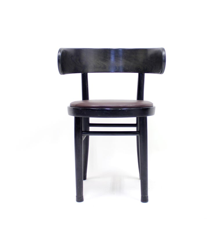 Chairs by Werner West for Wilhelm Schauman Ltd, circa 1940s, Set of 6 For Sale 1