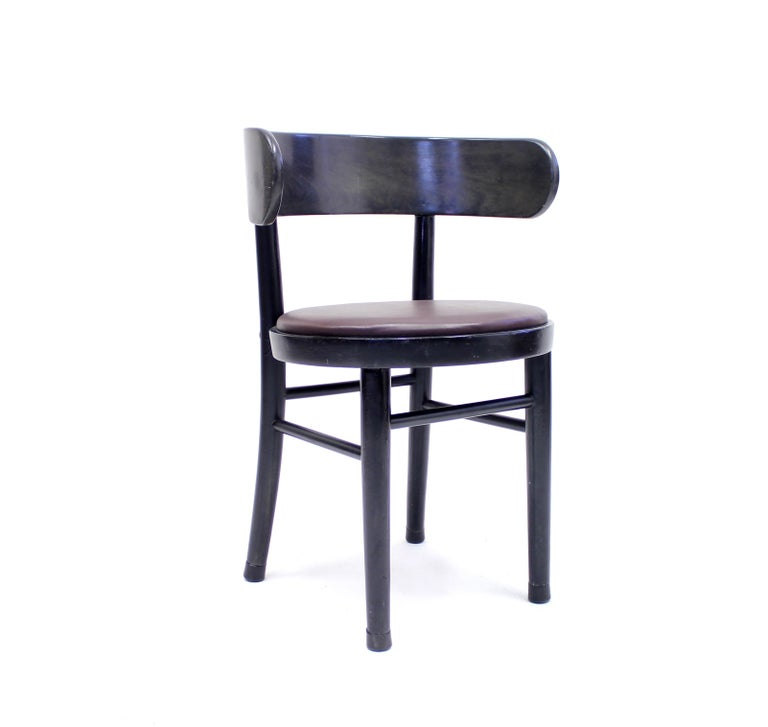 Chairs by Werner West for Wilhelm Schauman Ltd, circa 1940s, Set of 6 For Sale 2