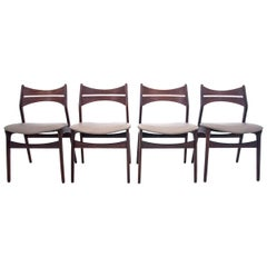 Chairs, Danish Design, 1960s Design by Eric Buck
