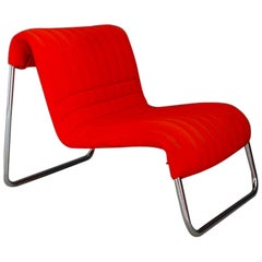 Chairs Lounge Italian Midcentury by De Pas and Lomazzi for Driade, 1970s