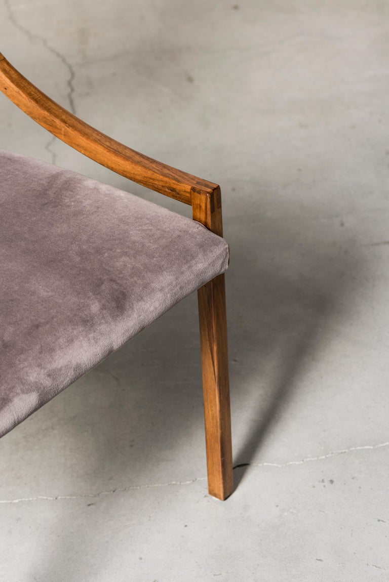 Mahogany Chairs Mod. 110 by Ico Parisi For Sale