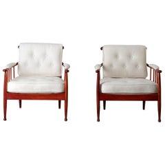Chairs Pair of 1960s Lounge Swedish Skrindan by Kerstin Horlin-Holmqvist Sweden