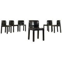 Chairs Plastic Material 1960s-1970s Carlo Bartoli Kartell