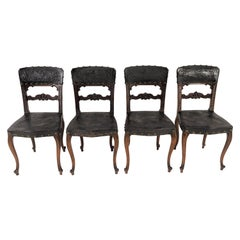 Chairs Rococo, 1880s Set of 4