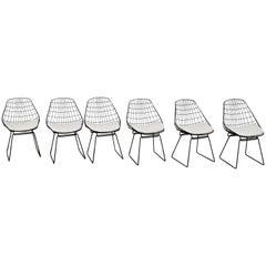 Chairs Wire SM05 by Cees Braakman & Adriaan Dekker for Pastoe, 1958