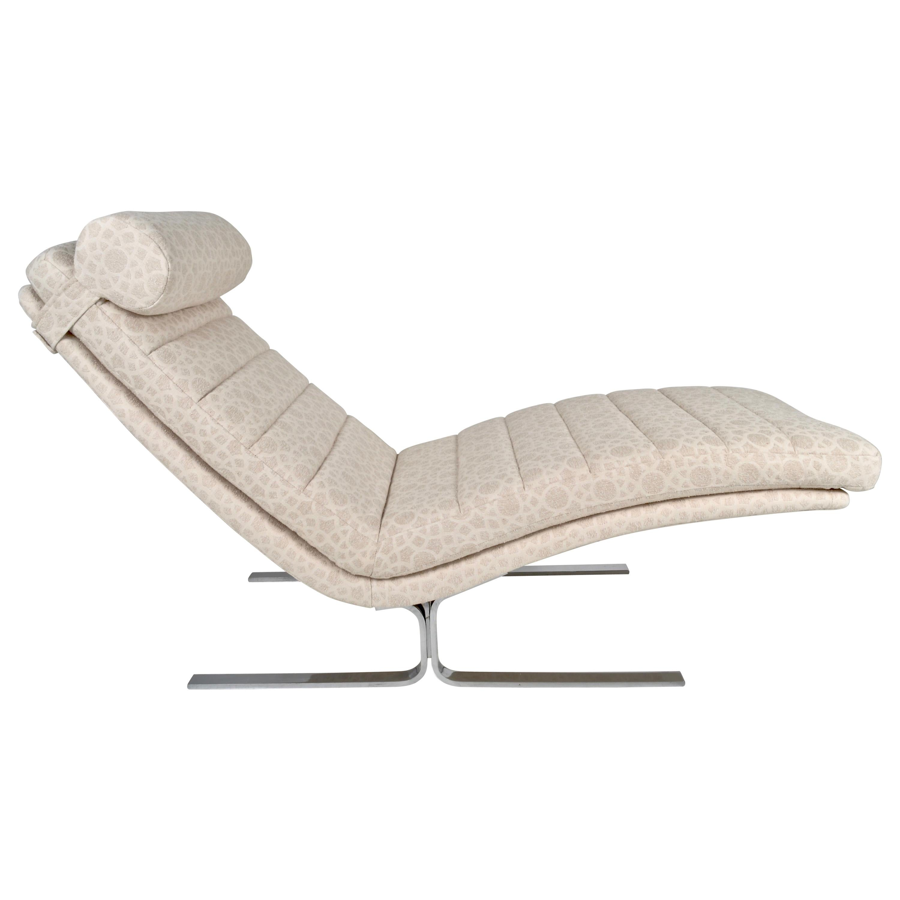 Chaise Longue by Walter Knoll for Brayton International, USA, 1970s