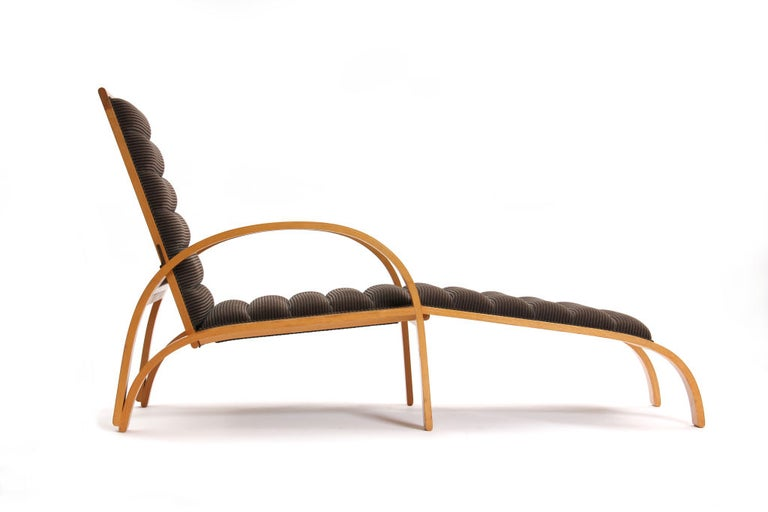 American Chaise Longue by Ward Bennett For Sale