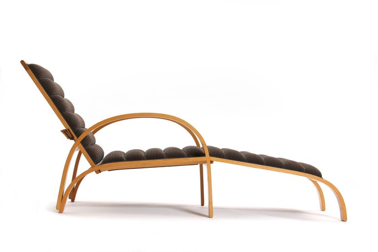 Chaise Longue by Ward Bennett In Good Condition For Sale In Sagaponack, NY