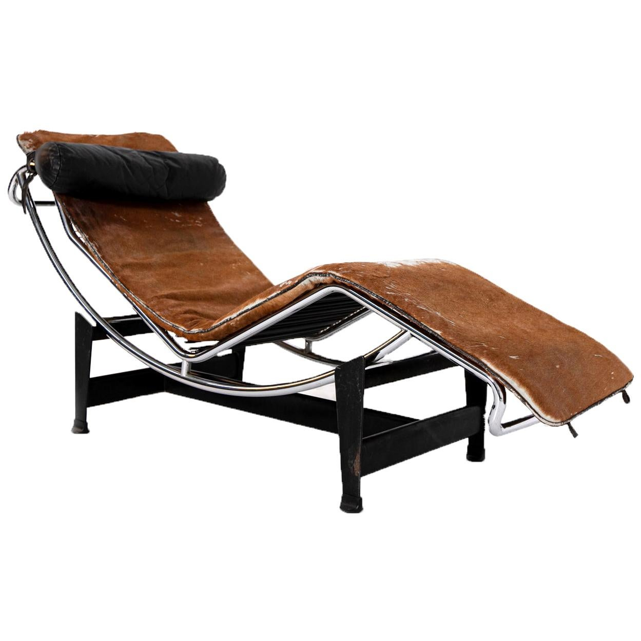 Chaise Longue LC4 by Le Corbusier, C. Perriand, P. Jeanneret for Cassina