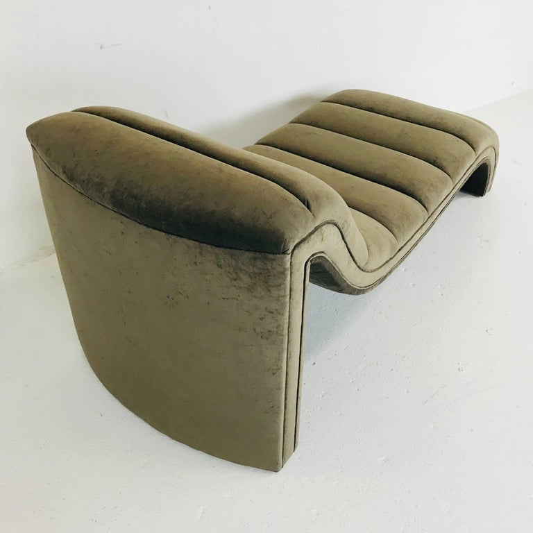 Contemporary Chaise Lounge, Custom For Sale