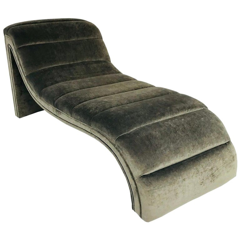 Chaise Lounge, Custom For Sale