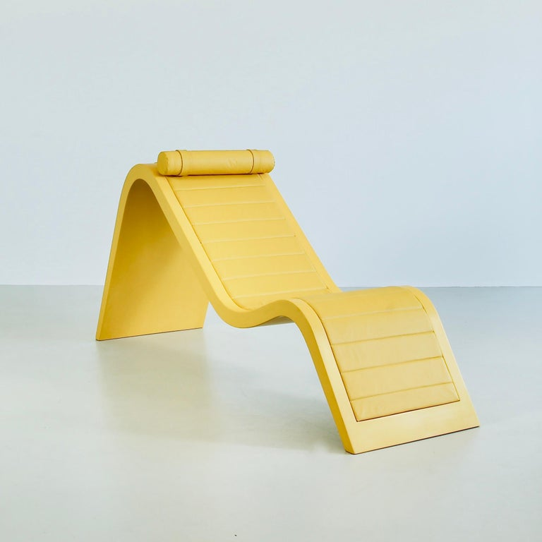Organic Modern Chaise Rio by Paulo Sergio Niemeyer, Unique Piece For Sale