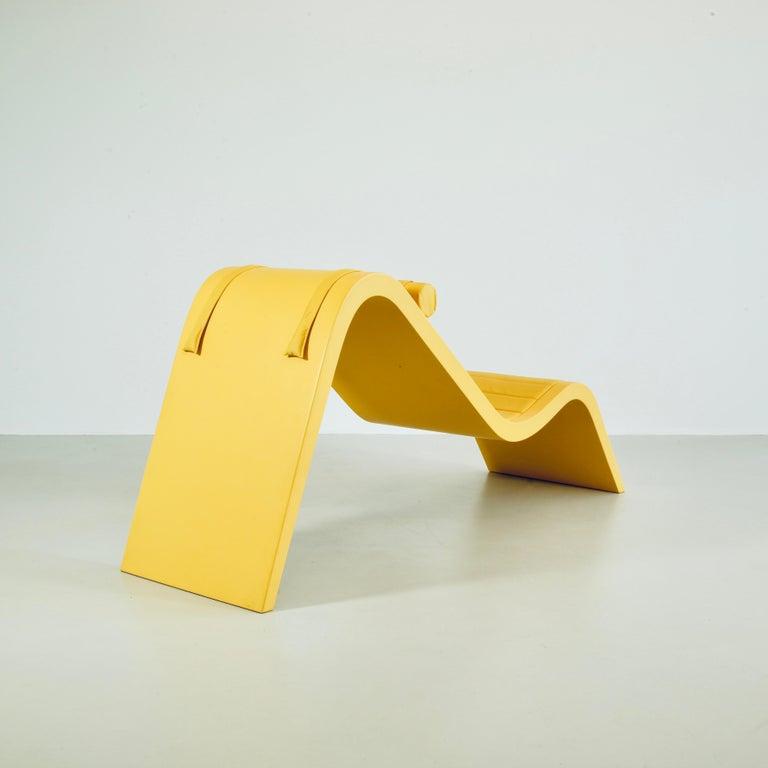 Brazilian Chaise Rio by Paulo Sergio Niemeyer, Unique Piece For Sale