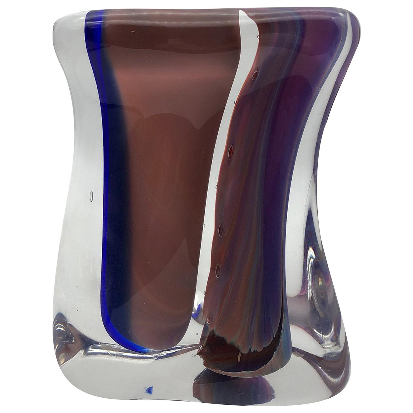 Chalcedony Vase by Toso Cristiano