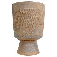 Chalice Form Planter Pot in the Style of Stan Bitters