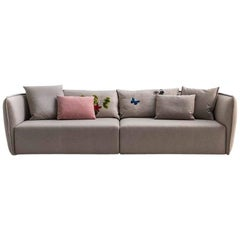 Chamfer 1 Three-Seat Sofa by Patricia Urquiola for Moroso