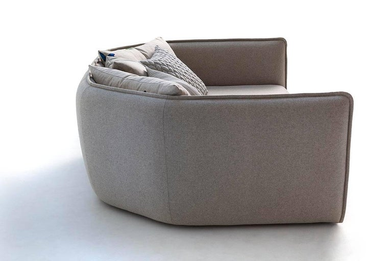 Chamfer 2 Round Sofa by Patricia Urquiola for Moroso in Three Configurations For Sale 8