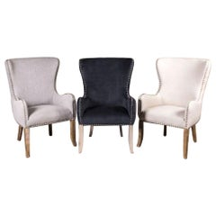 Chamonix Upholstered Carver Chair Range, 20th Century