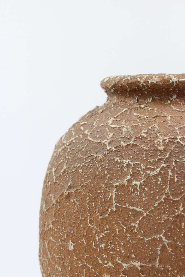 20th Century Chamotte Vase by Andersson & Johansson Höganäs, Early 1900s For Sale
