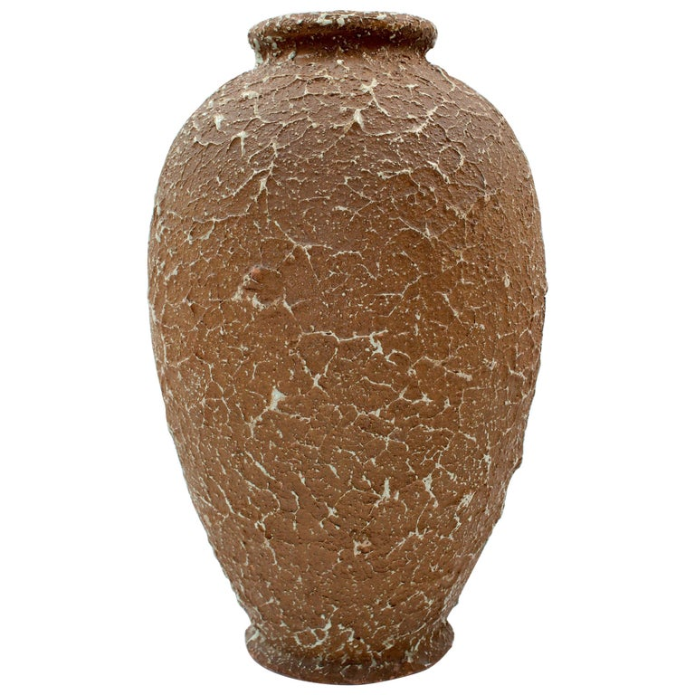 Chamotte Vase by Andersson & Johansson Höganäs, Early 1900s For Sale