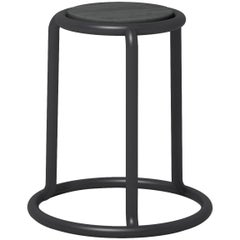 Champ Stool in Black by Visibility