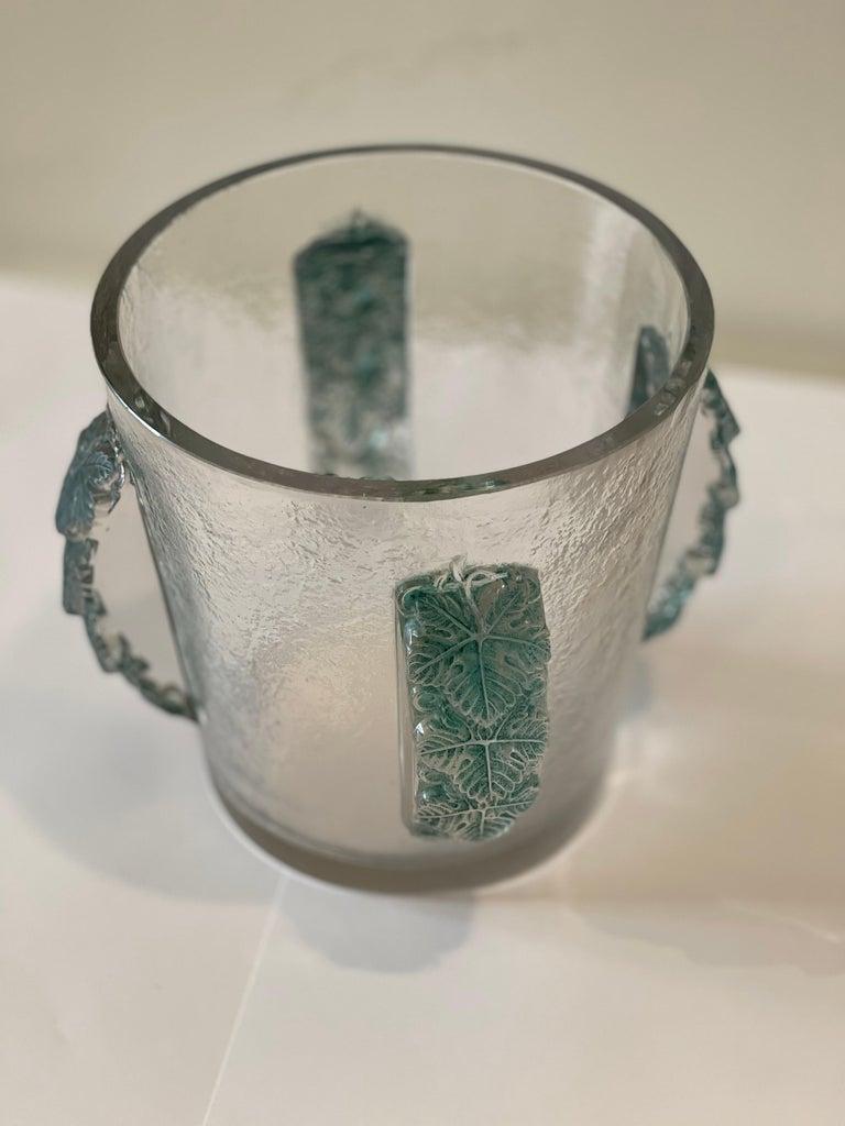 Art Deco Champagne Bucket by René Lalique, France, Art Déco, 1930s For Sale