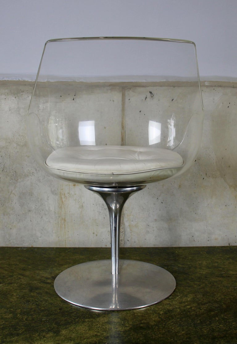 American Champagne chair by Erwine and Estelle Laverne for Formes Nouvelles, USA, 1960s For Sale