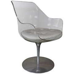 Champagne chair by Erwine and Estelle Laverne for Formes Nouvelles, USA, 1960s