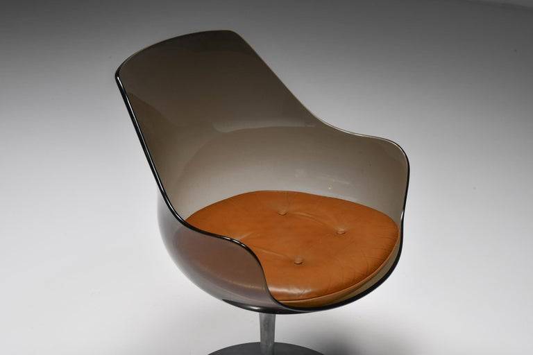 Champagne Chairs by Erwine & Estelle For Laverne International, 1959 For Sale 1