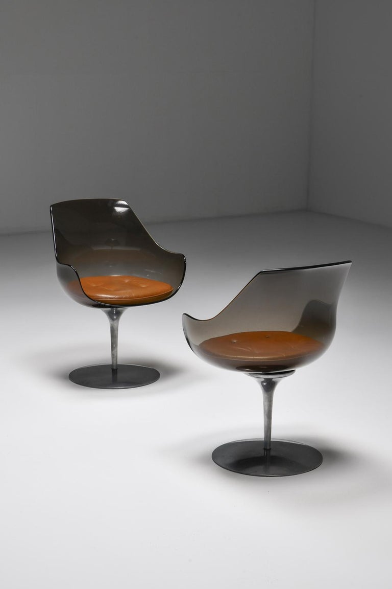 Champagne Chairs by Erwine & Estelle For Laverne International, 1959 For Sale 3