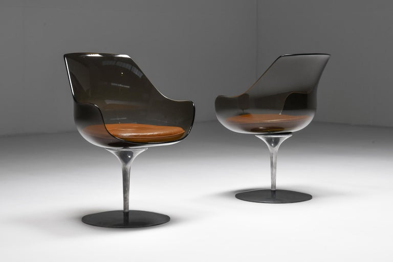 American Champagne Chairs by Erwine & Estelle For Laverne International, 1959 For Sale