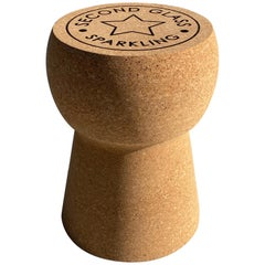 Champagne Cork Table or Stool