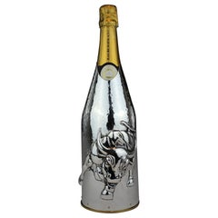Champagne cover, Solid pure silver, Wall Street, 2020, Italy in Stock