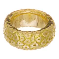 Chamut Paris Yellow Gold Band Ring