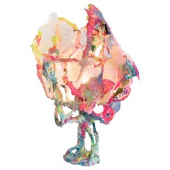 """Chan Chiao Chun Contemporary Colourful Resin Table Lamp """"Stay with Me"""", 2021"""